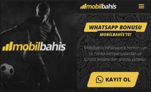 mobil bahis whatsapp bonus
