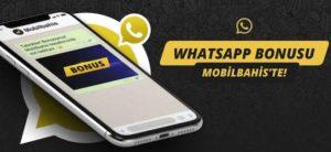 mobilbahis whats app bonusu